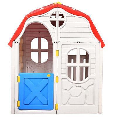 Kids Playhouse Portable Plastic Large