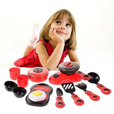 Kids House Cooking Food Pans Sets