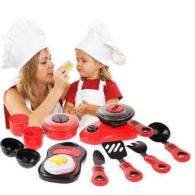 Kids Cooking Food Pans Sets