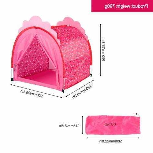 Kids Play Tent Indoor & Outdoor Playhouse for Boys, Children US MY