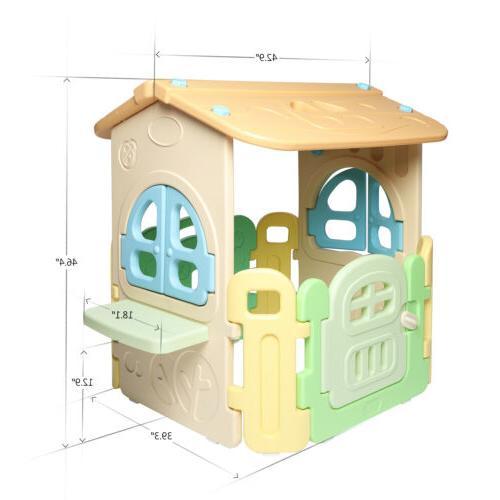 "Kids Edge Plastic Game House 46"" House"