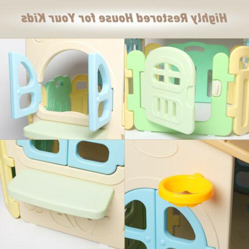 Kids Playhouse Arc Edge Plastic Game House House