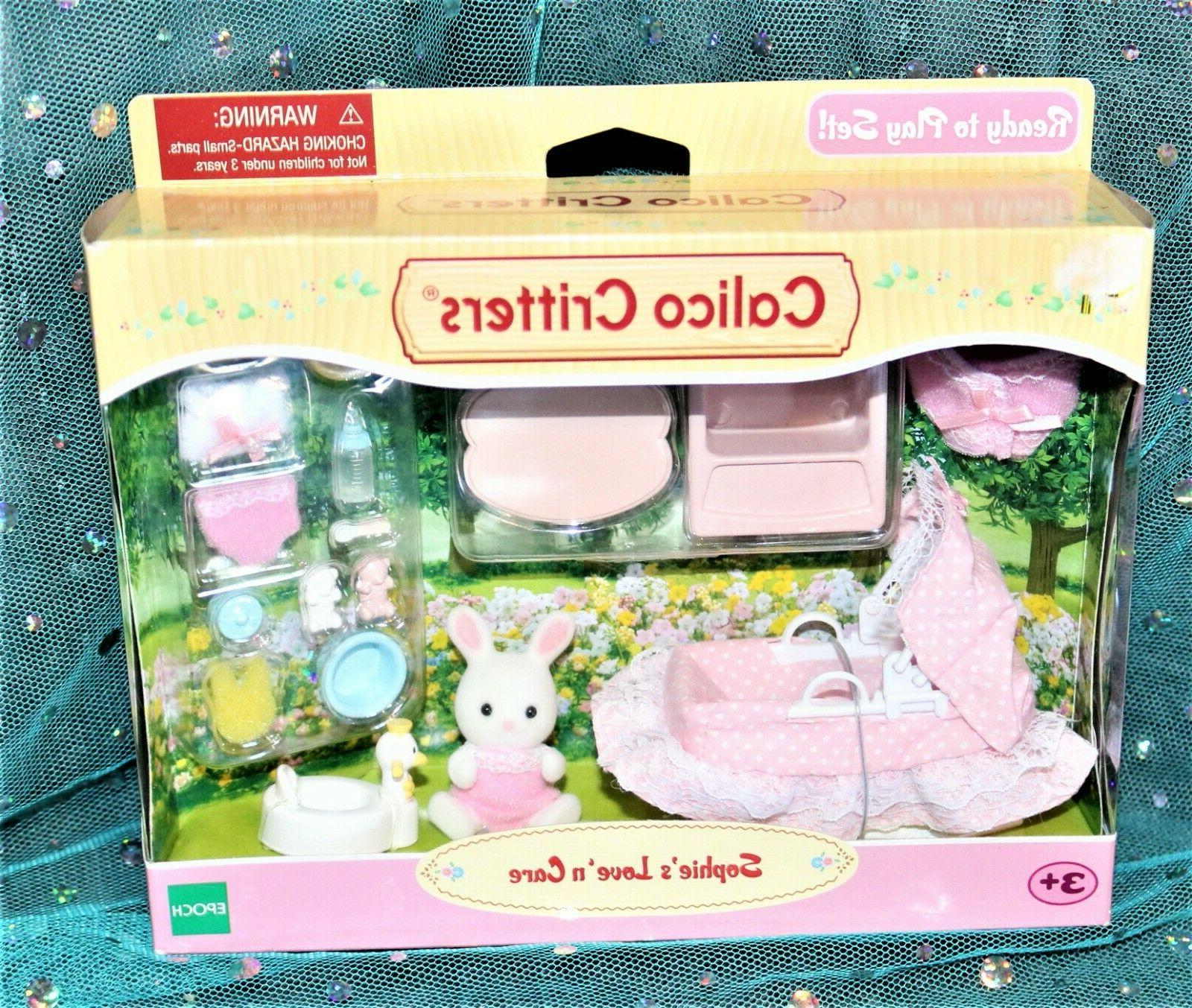 Calico Critters Lodge Family house,