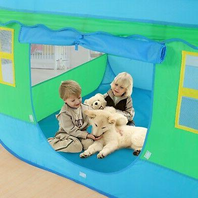 Large Kids Tent Tunnel Toys Outdoor