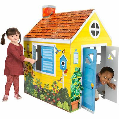 melissa and doug cottage indoor playhouse
