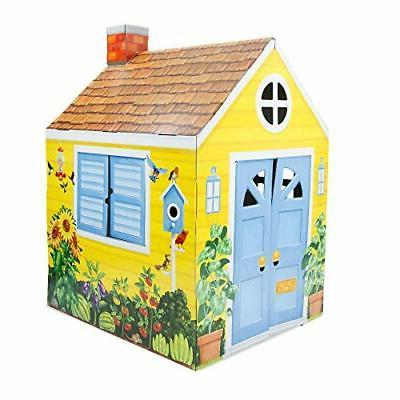 melissa and doug country cottage indoor playhouse