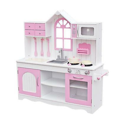New Children's Wooden Toys Kitchen Simulation Children's House