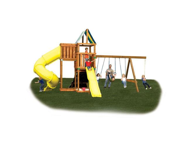 Backyard Set DIY Custom Kids Playhouse