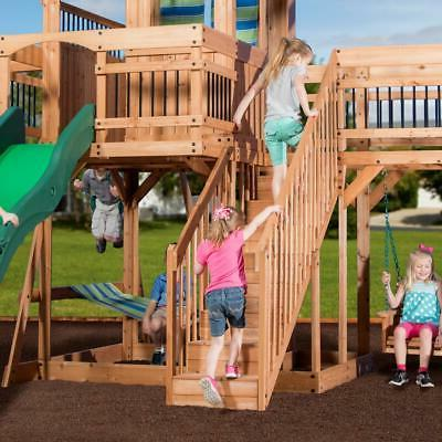 Outdoor Slide Playset Stairs All New