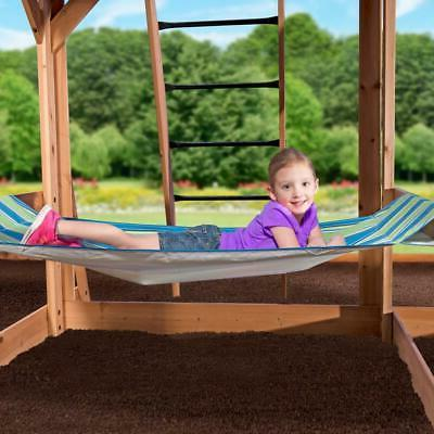 Outdoor Slide Playset Stairs New