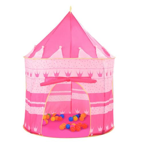 Girls Pink Princess Castle Child Playhouse Kids Children Pla