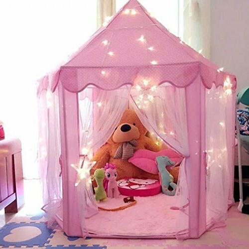 Girls Playing House Large Indoor/Outdoor