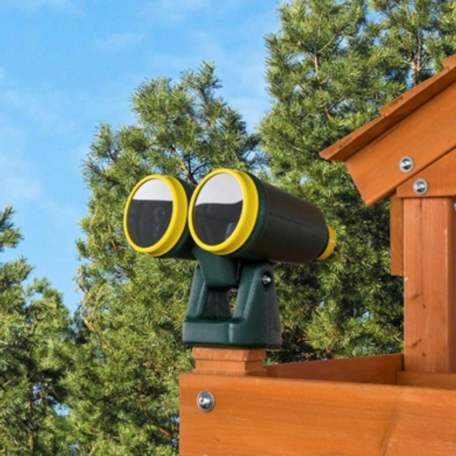 plastic playset binoculars swing set