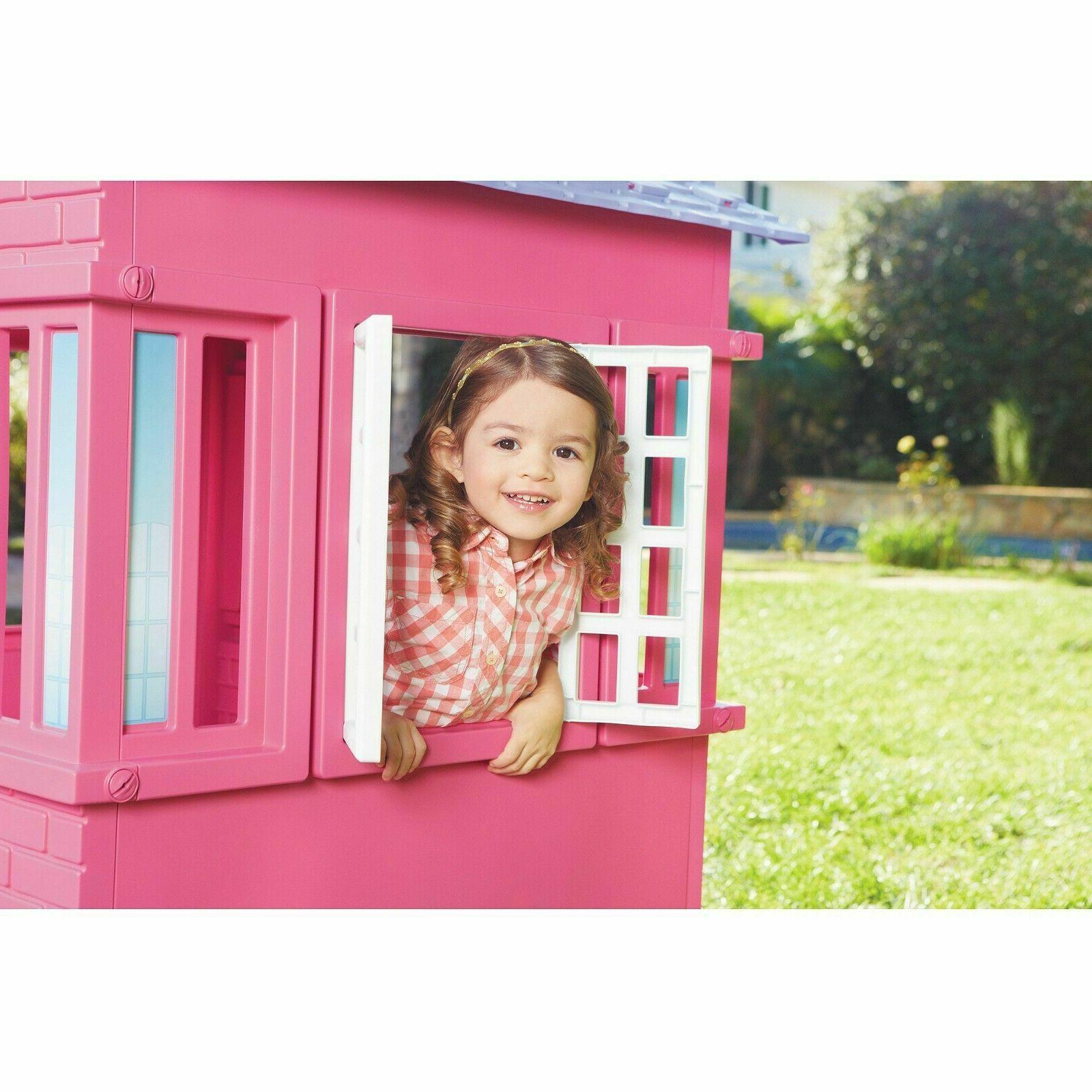 Plastic Toddler Fun Playhouse