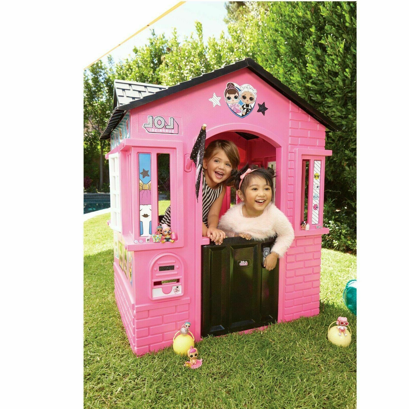 plastic pretend play house toddler indoor outdoor