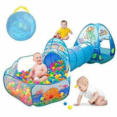 Kids Play Tunnel, Ball Play House for Babies and Outdoor
