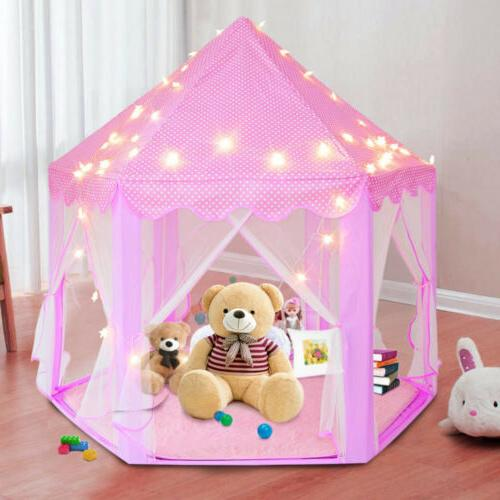 Girls Castle Play Toy + Light