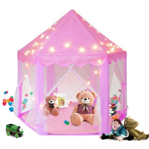 Girls Kids Play Tent + Star