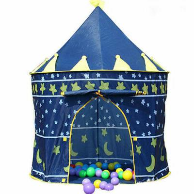 Playhouse Castle Tent Tunnel Outdoor Fairy Playhut For Boys Girls