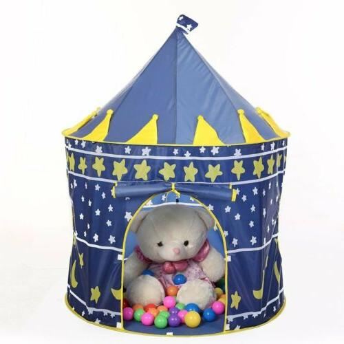 Playhouse Castle Tent Tunnel Fairy Playhut For Girls