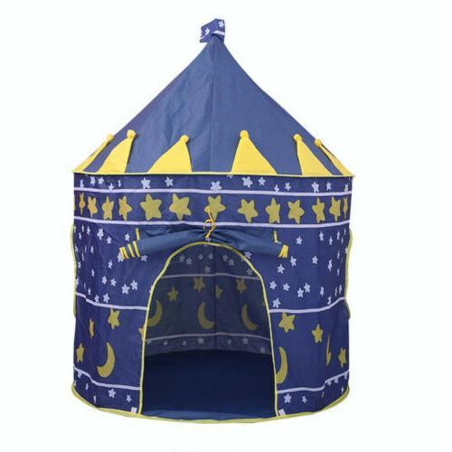 Playhouse Castle Tent Tunnel Fairy Playhut Kid Girls