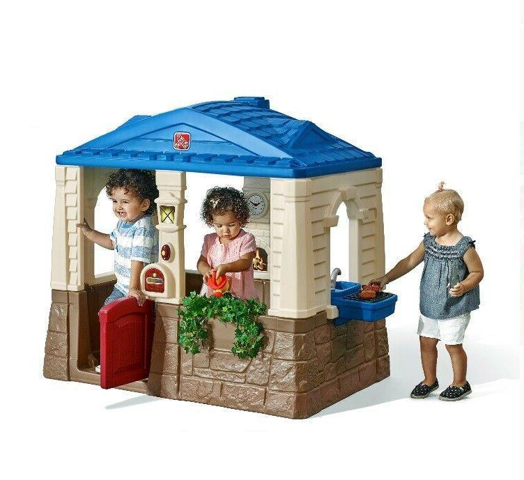 Playhouse Toddlers Children Outdoor Open Design