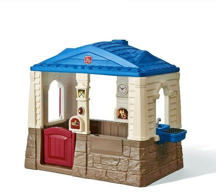 playhouse cottage toddlers kids children play outdoor