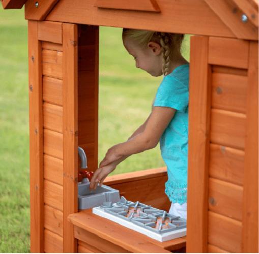 PLAYHOUSE KIDS w/ Accessories Wood