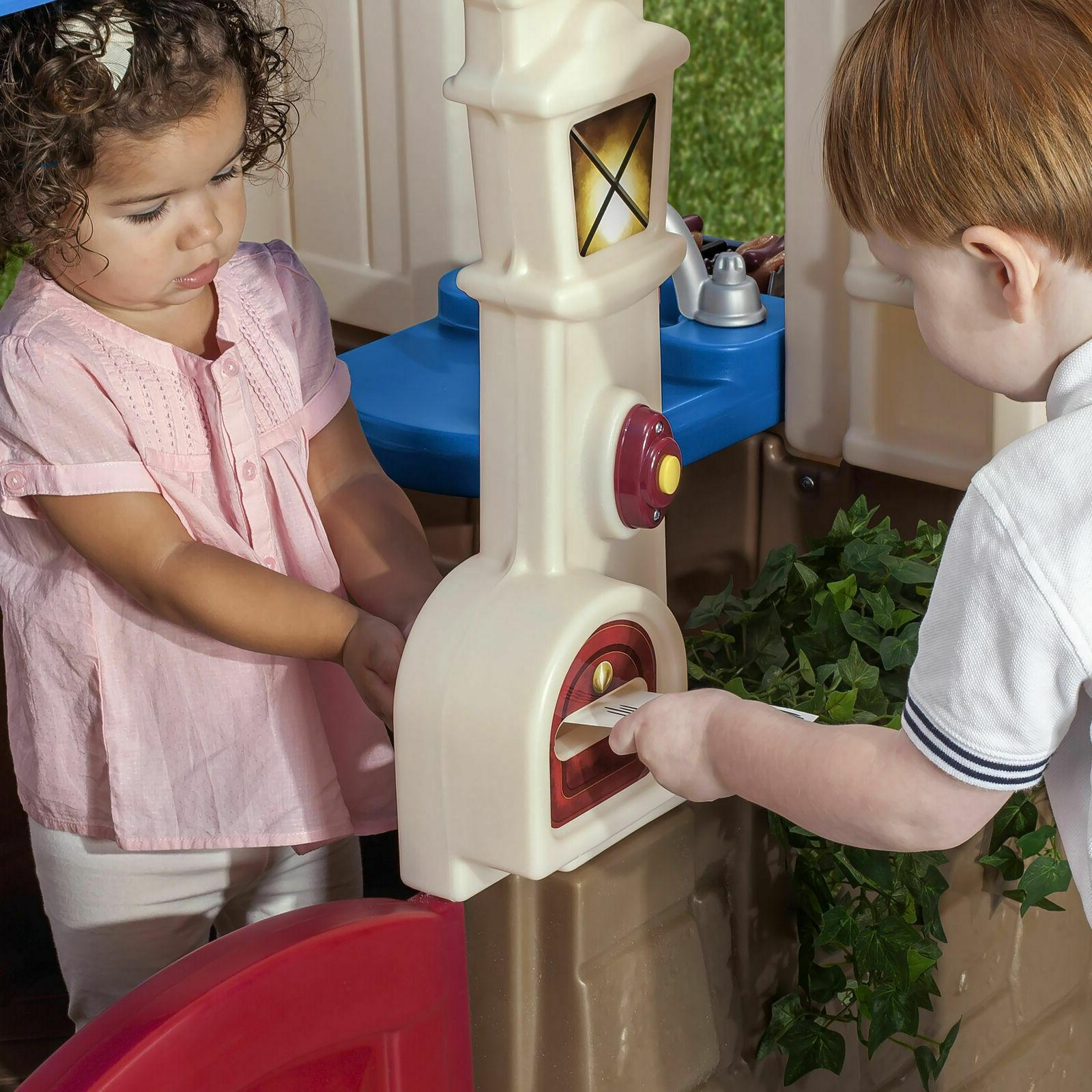 Step2 Playhouse Kids Cottage House Blue Dutch