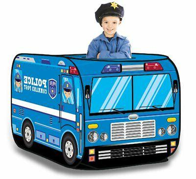 police vehicle pop play tent
