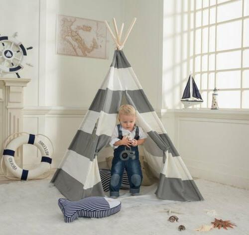 Portable Gray Kids Sleeping Children House