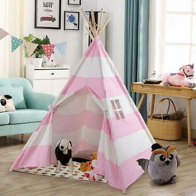 Portable Playhouse Sleeping Dome Indian Teepee Tent Children