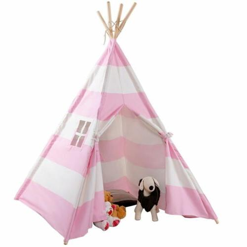 Portable Indian Tent Children Play