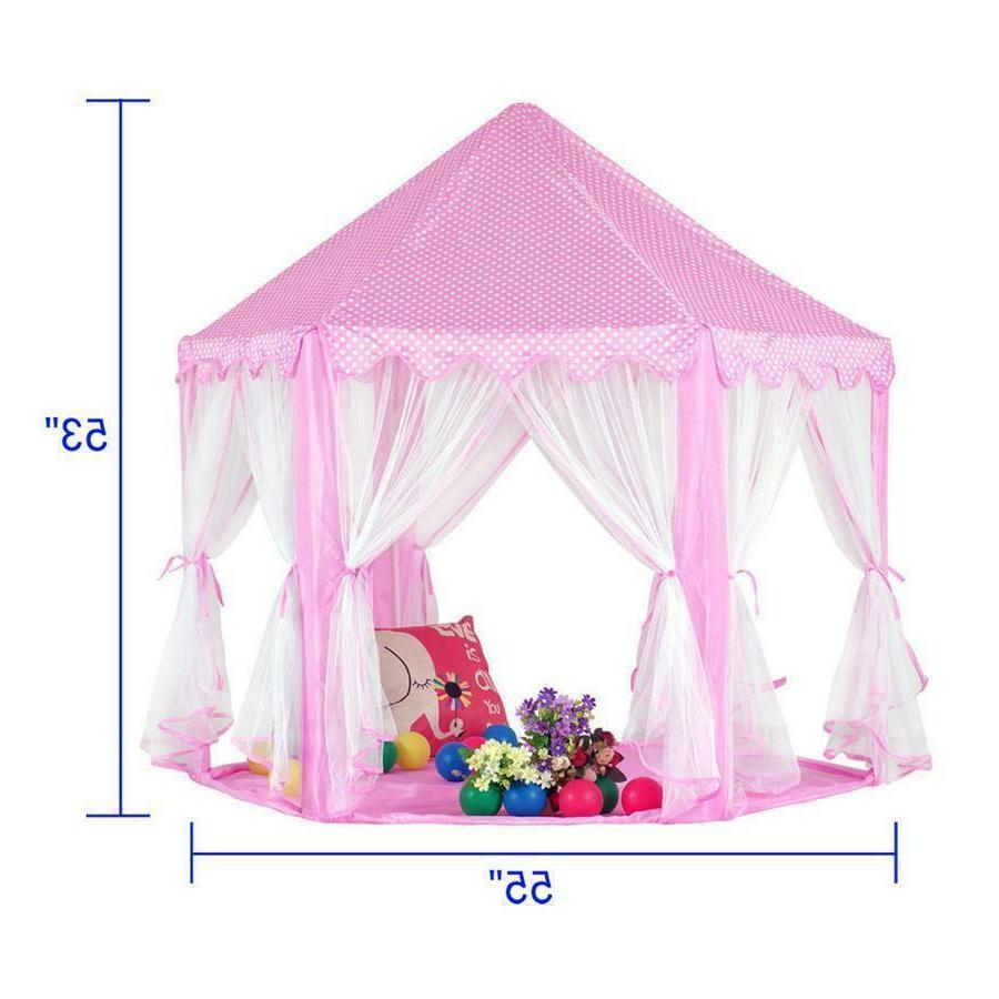 Pink Princess Girls Playing House Large Indoor/Outdoor