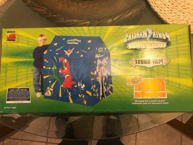 power rangers time force play house hut