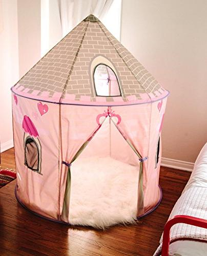 "Pacific Tents Kids Princess Pavilion 59"" 40"" x 63"""