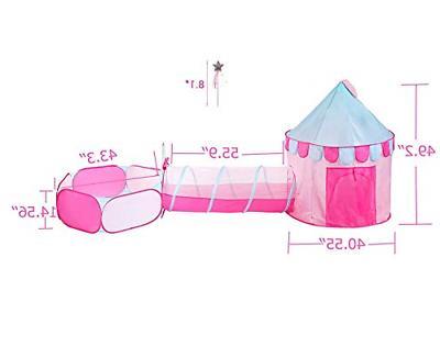 Princess Castle Tent Kids Playhouse Ou...
