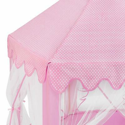 Princess House Tent for Girls Pink