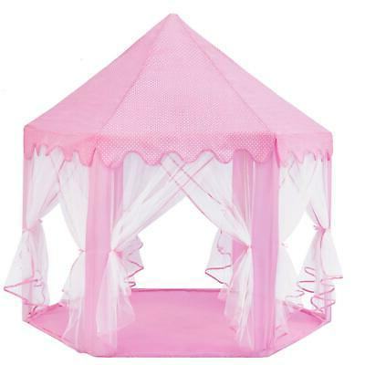 Princess Castle Play House Large Tent for Girls Pink