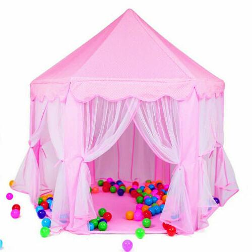 princess castle play tent for girls large