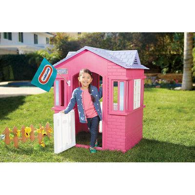 Princess Cottage Playhouse Little Girls Pretend