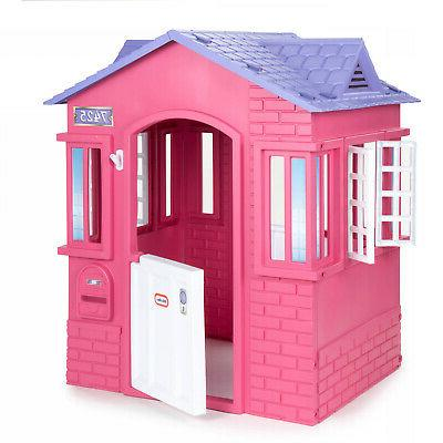 Princess Cottage Toy Playhouse Girls Toddlers Kids Pretend P