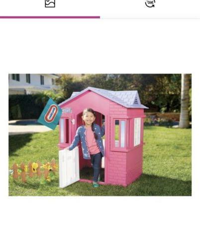 Princess Playhouse Girls Toddlers Pretend Pink Little Tikes