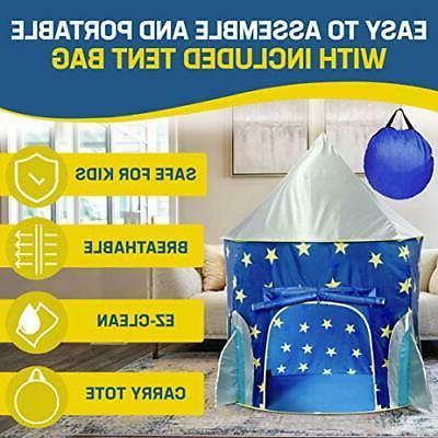 Ship Play House Tent for Indoor Outdoor Pop Carry
