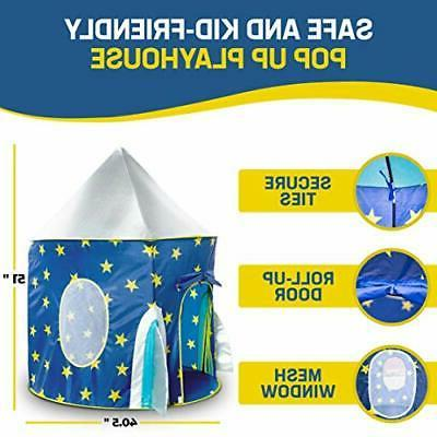 Ship Play House Tent for Indoor Pop Carry Bag