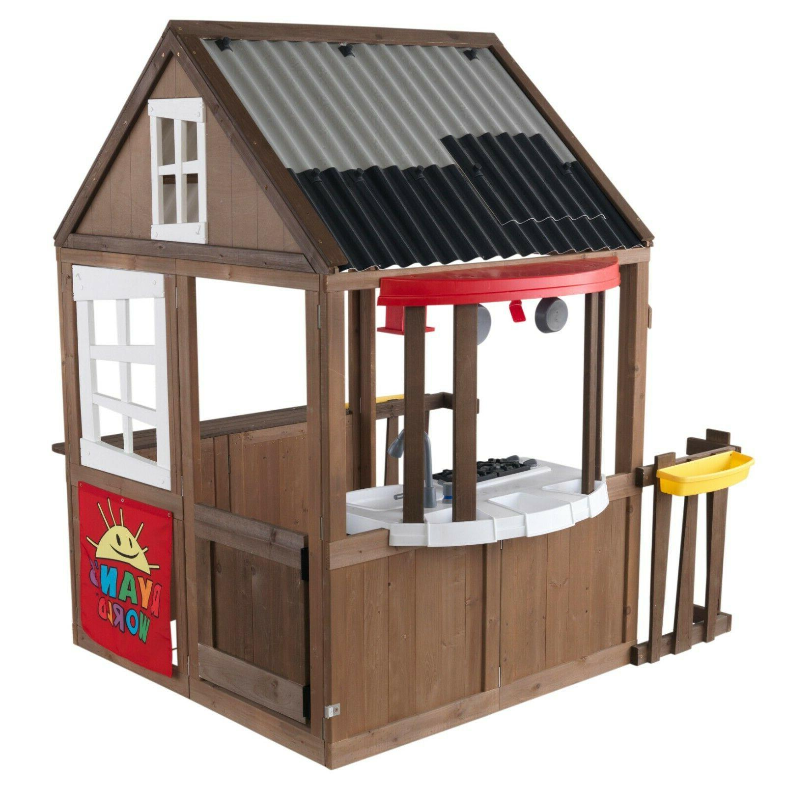Outdoor Backyard Playhouse / Clubhouse Mini Kitchen- New- Fr