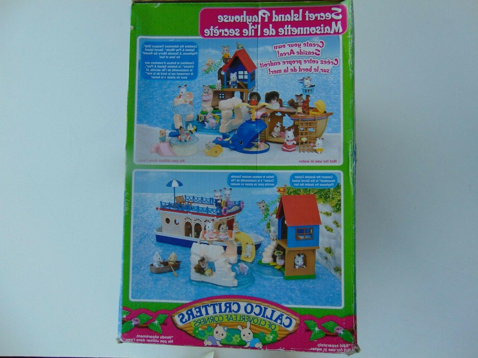 Calico Critters Playhouse Brand Factory Sealed