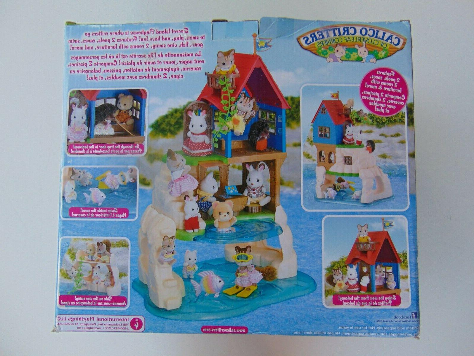 Calico Critters Island Playhouse Sealed