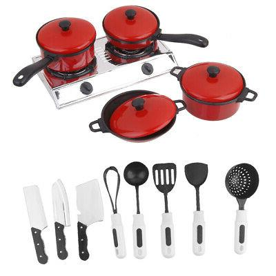Set of 13 Kitchen Play Toy