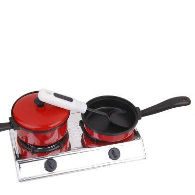 Set of Kitchen Cooking Food Pretend Toy